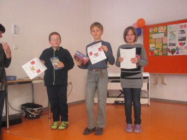 Unsere Sieger der Mathematikolympiade