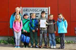 Greifswald – Ralley der Klasse 3c