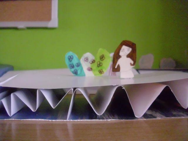 Papierbrücken bauen
