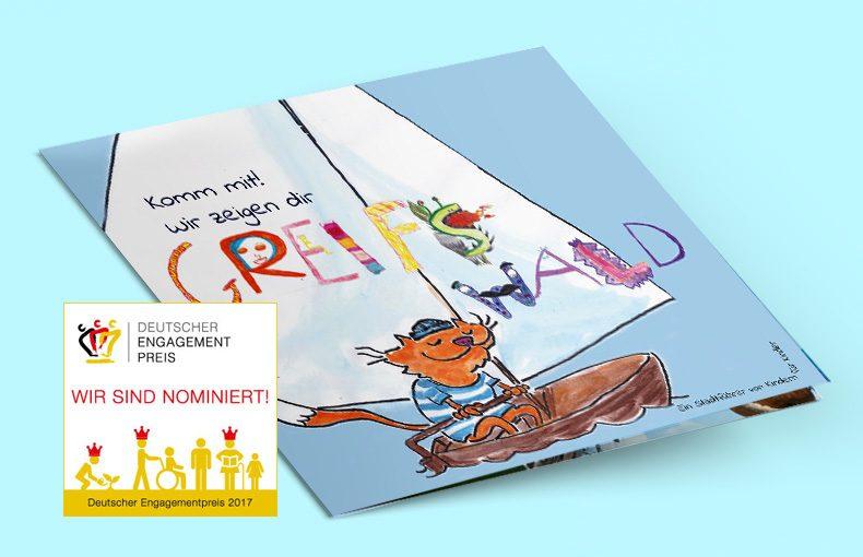 Der Förderverein der Grundschule Greif im Rennen um den Deutschen Engagementpreis 2017