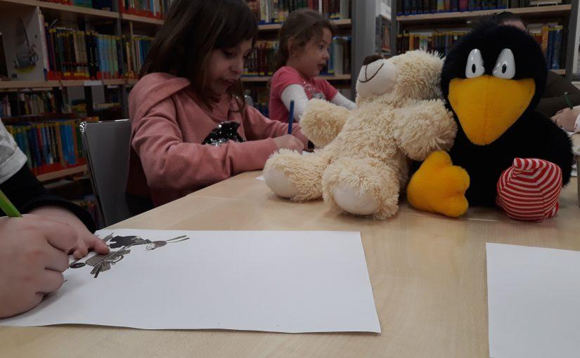 Besuch der 1c in der Stadtbibliothek