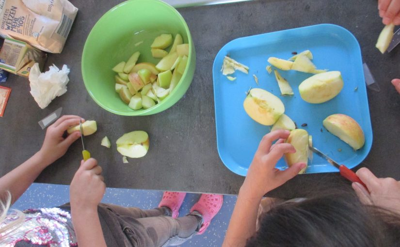 Apfelprojekt der 1. Klassen